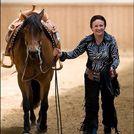 Thumb herzer mit pferd