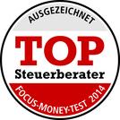 Thumb auszeichnung focus money top steuerberater 2014